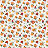 Happy Fall Collection Fresh Fall Flowers 12 x 12 Double-Sided Scrapbook Paper by Echo Park Paper