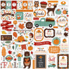 Happy Fall Collection 12 x 12 Scrapbook Sticker Sheet by Echo Park Paper