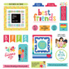 Best Friends Cardstock Ephemera Scrapbook Embellishments by Photo Play Paper