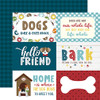 My Dog Collection 6X4 Journaling Cards 12 x 12 Double-Sided Scrapbook Paper by Echo Park Paper