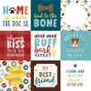 My Dog Collection 4 x 4 Journaling Cards 12 x 12 Double-Sided Scrapbook Paper by Echo Park Paper