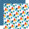 Let's Celebrate Collection Bunches Of Balloons 12 x 12 Double-Sided Scrapbook Paper by Carta Bella