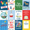 Let's Celebrate Collection 3X4 Journaling Cards 12 x 12 Double-Sided Scrapbook Paper by Carta Bella