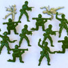 Disneyana Collection Toy Story Green Army Guys by Eyelet Outlet - Pkg. of 12