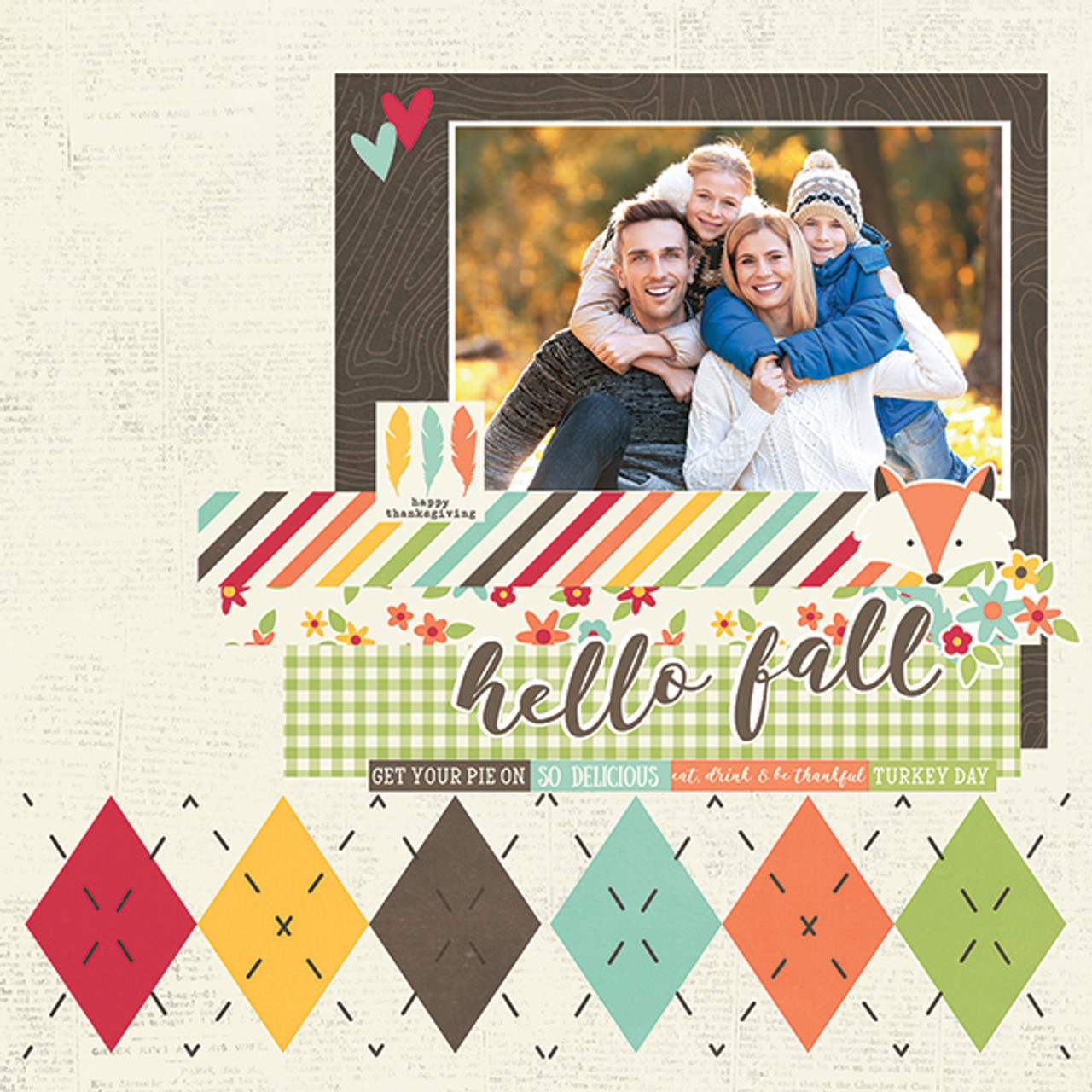Layout by Simple Stories