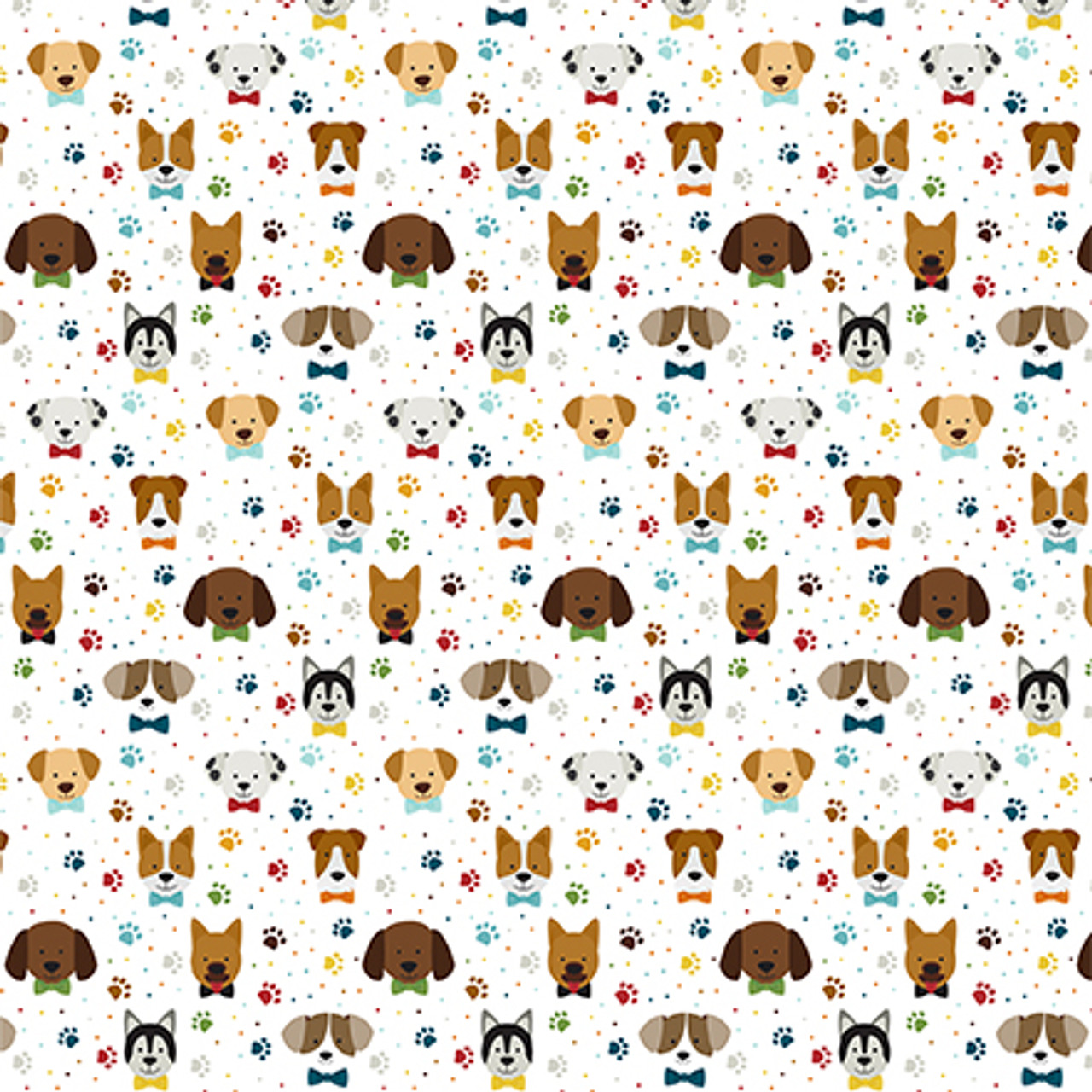 My Dog Collection Puppy Pals 12 x 12 Double-Sided Scrapbook Paper by Echo Park Paper