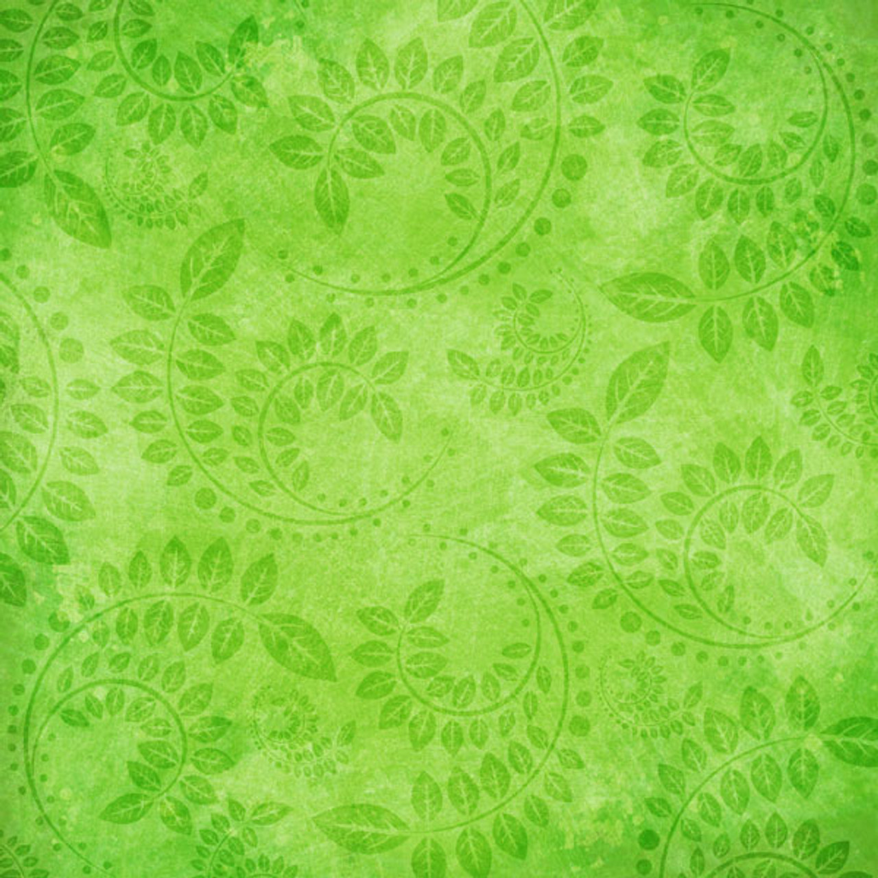 Paradise Collection Paradise Fern 12 x 12 Scrapbook Paper by Scrapbook Customs