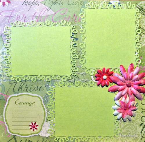 Scrapbook Layout by SSC Design Team