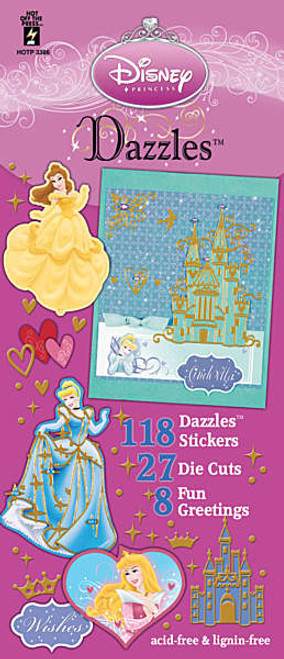 Dazzles Collection Disney Princess Collection Dazzles Stickers by Hot Off The Press