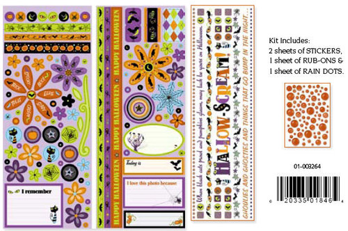 Halloween Fun Collection Embellishment Kit by Cloud 9 Design