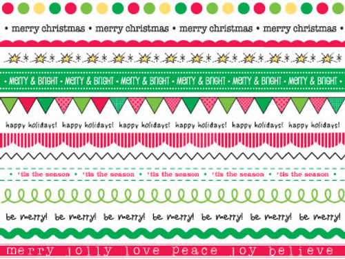 We've Got Your Border Collection Christmas Borders by SRM Stickers