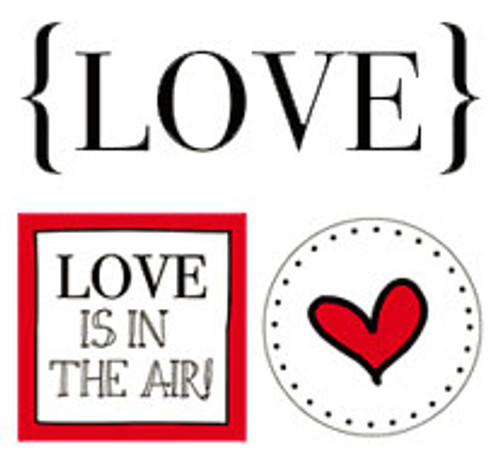 Love Quick Cards Sticker Sheet by SRM Press - Pkg. of 2