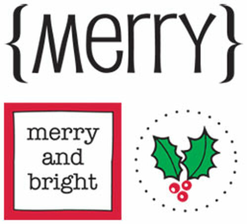 Merry Quick Cards Sticker Sheet by SRM Press - Pkg. of 2