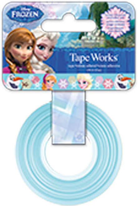 Disney Frozen Collection Self-Adhesive Tapeworks Decorative Tape by Sandylion - 50 Feet