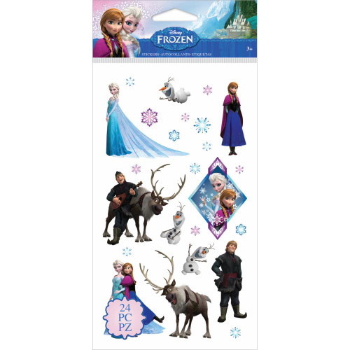 Disney Frozen Collection Frozen Flat Stickers by EK Success