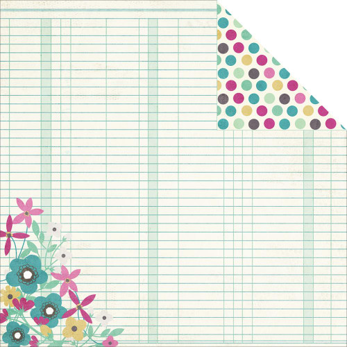 Hey Mom! Collection Beautiful 12 x 12 Double-Sided Scrapbook Paper by Simple Stories
