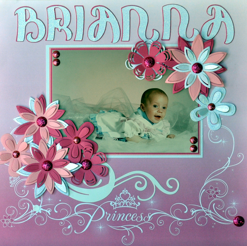 Princess Brianna Layout by SSC Designs