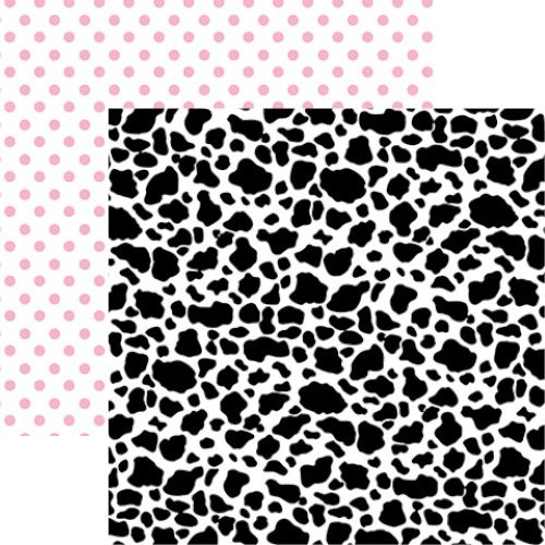 Toy Box Collection Cow Print 12 x 12 Double-Sided Scrapbook Paper by Reminisce