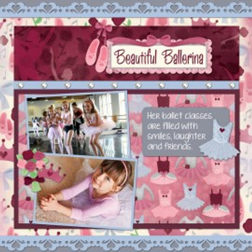 Scrapbook Layout by Karen Foster Design Team
