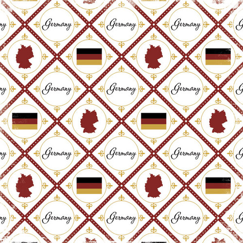 Discover Collection Germany 12 x 12 Scrapbook Papers by Scrapbook Customs