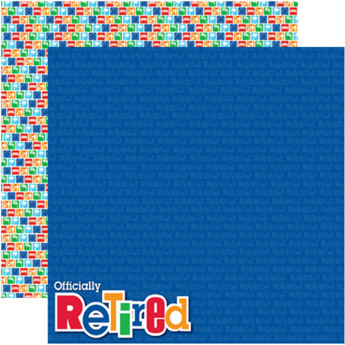 Signature Series Collection Officially Retired 12 x 12 Double-Sided Scrapbook Paper by Reminisce