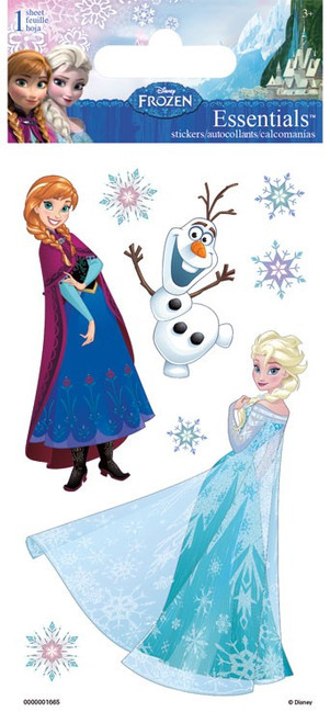 Disney Frozen Collection Frozen Essentials 3 x 5 Scrapbook Embellishment by Sandylion