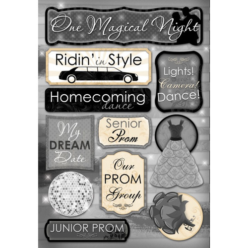 Our Special Night Collection Magical Night 5.5 x 9 Scrapbook Cardstock Stickers by Karen Foster Design
