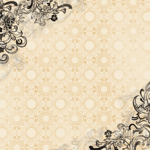 Our Special Night Collection Dance Brocade 12 x 12 Scrapbook Paper by Karen Foster Design
