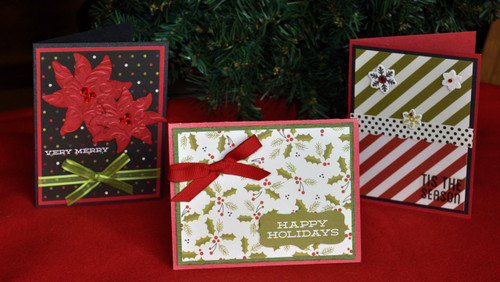 DIY Christmas Cards by SSC Designs