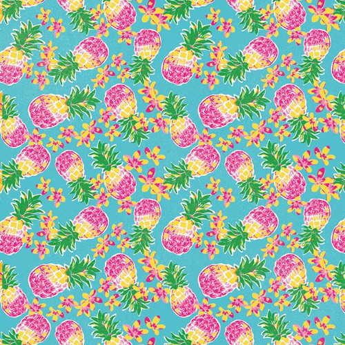 Paradise Found Collection Pineapples 12 x 12 Double-Sided Scrapbook by Paper House Productions