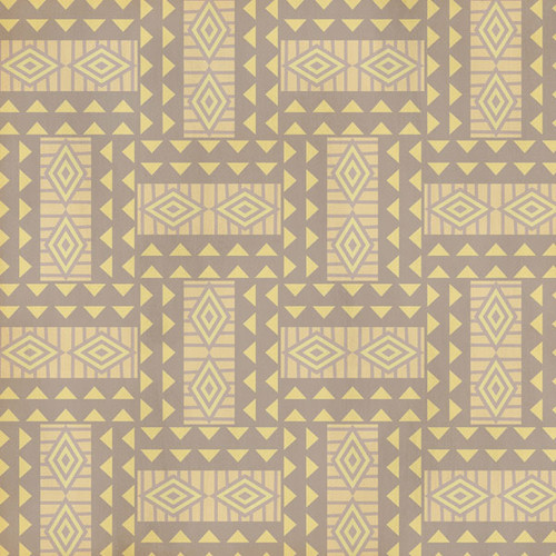 African Safari Collection Africa Shape 12 x 12 Double-Sided Scrapbook Paper by Scrapbook Customs