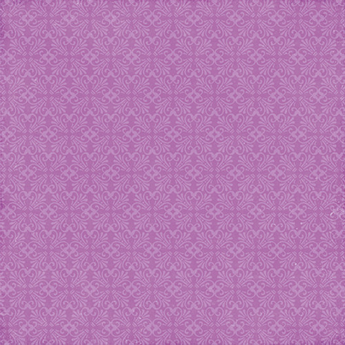 Perfect Princess Collection Fairy Garden 12 x 12 Double-Sided Scrapbook Paper by Echo Park Paper