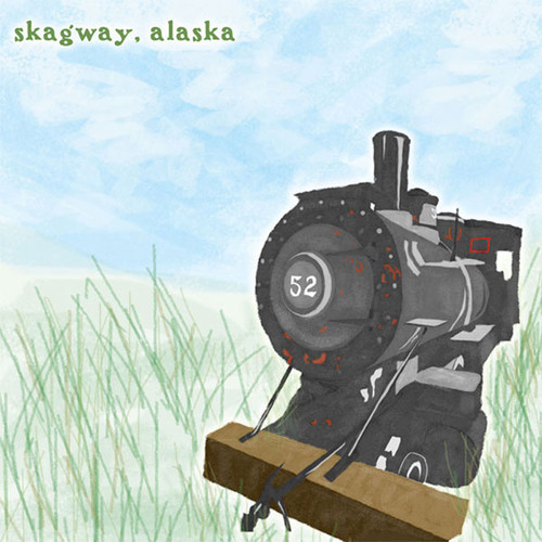 Skagway, Alaska Train 12 x 12 Scrapbook Paper by Scrapbook Customs