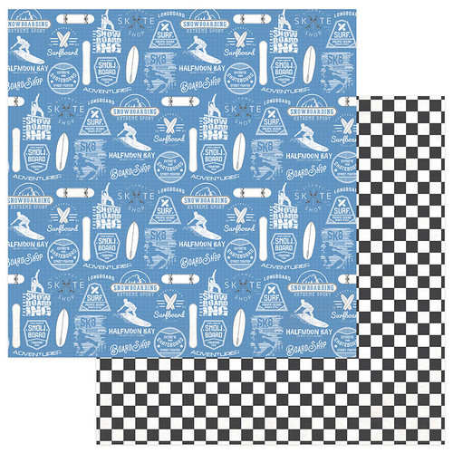 Freestyle Collection Jason Murphy 12 x 12 Double-Sided Scrapbook Paper by Photo Play Paper