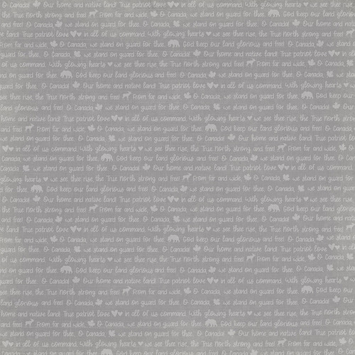 O Canada Collection True North 12 x 12 Double-Sided Scrapbook Paper by Photo Play Paper