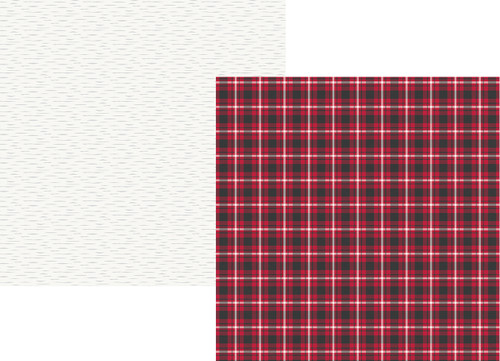 Plaid Dad Collection Rad Plaid 12 x 12 Double-Sided Scrapbook Paper by Simple Stories