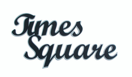 Times Square 4 x 7 Title Laser Cut Scrapbook Embellishment by SSC Laser Designs