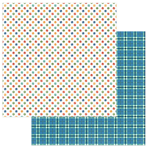 Fetch Collection Fetch 12 x 12 Double-Sided Scrapbook Paper by Photo Play Paper