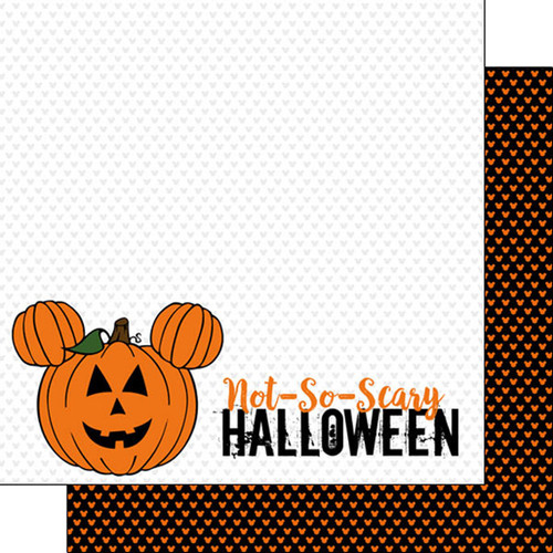 Magical Day of Fun Collection Not So Scary Halloween 12 x 12 Double-Sided Scrapbook Paper by Scrapbook Customs