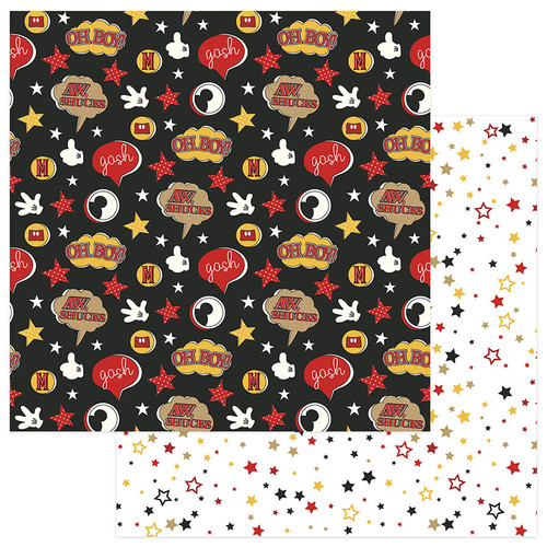 A Day At The Park Collection Oh Boy 12 x 12 Double-Sided Scrapbook Paper by PhotoPlay Paper
