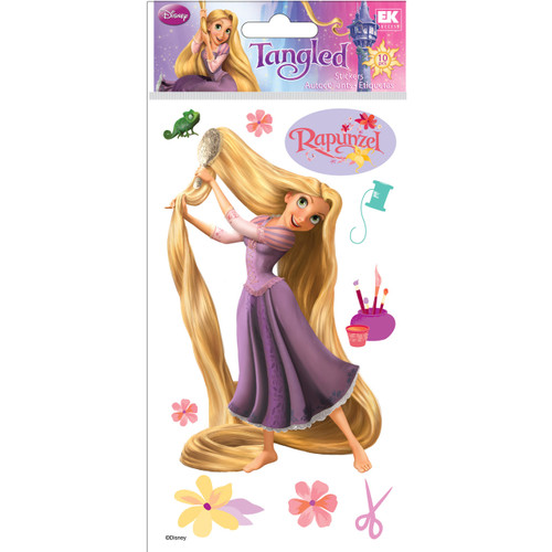 Disney Collection Rapunzel Le Grande 4 x 7 Scrapbook Embellishment by EK Success