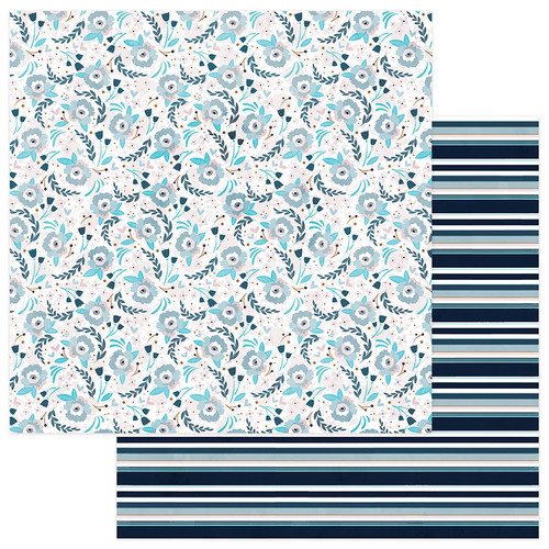Remembrance Collection Memories 12 x 12 Double-Sided Scrapbook Paper by Photo Play Paper