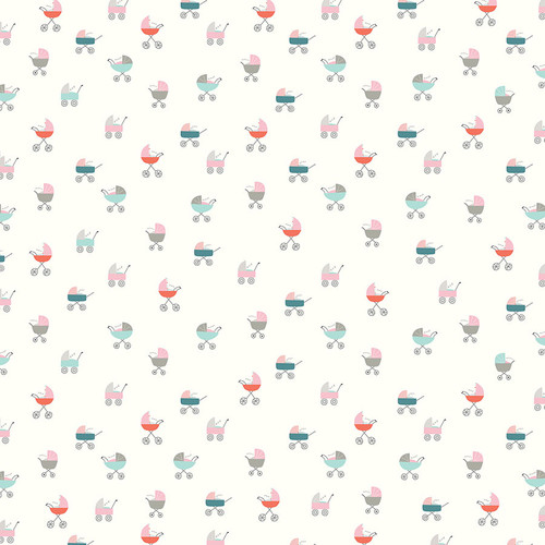 Snuggle Up Collection Girl Cuddle Time Girl 12 x 12 Double-Sided Scrapbook Paper by Photo Play Paper