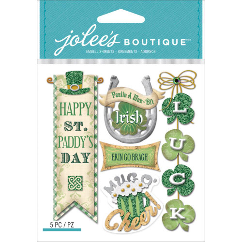 Irish Words & Phrases 4 x 5 Scrapbook Embellishment by EK Success