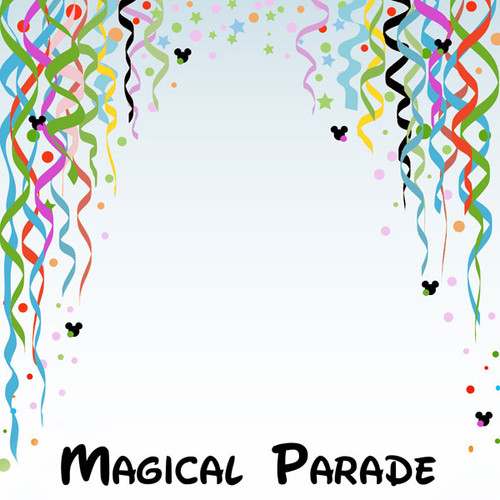 Magical Day of Fun Collection Magical Parade 12 x 12 Double-Sided Scrapbook Paper by Scrapbook Customs