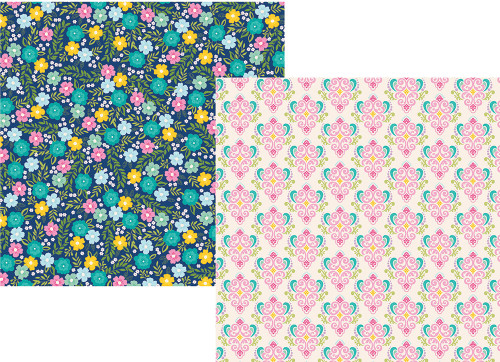 Little Princess Collection Happily Ever After 12 x 12 Double-Sided Scrapbook Paper by Simple Stories
