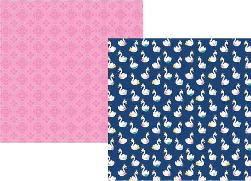 Little Princess Collection Simply Charming 12 x 12 Double-Sided Scrapbook Paper by Simple Stories