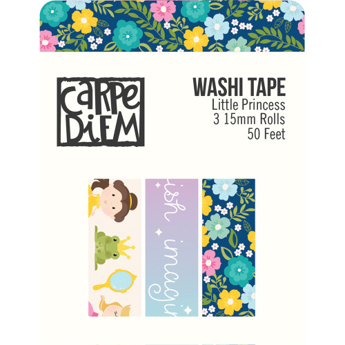 Little Princess Collection Washi Tape {3} 15mm rolls; (50) Feet by Simple Stories