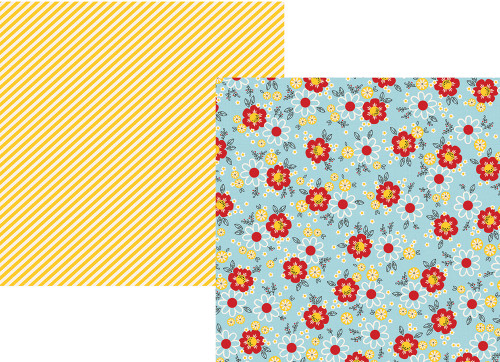 Say Cheese 4 Collection Happy Magical Moments 12 x 12 Double-Sided Scrapbook Paper by Simple Stories