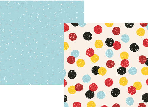 Say Cheese 4 Collection Make a Wish 12 x 12 Double-Sided Scrapbook Paper by Simple Stories